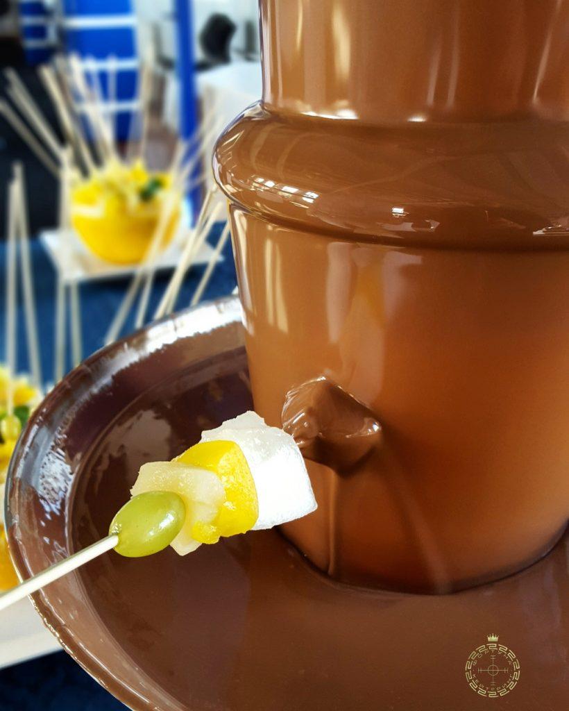 Shokoladnyj fontan korporativ fortunacatering